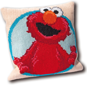 Sesame Street Elmo Pillow - (KIT)